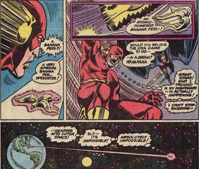 Nỗi sợ lớn nhất của Flash: Đang chạy thì trượt vỏ chuối, bay luôn ra ngoài Trái Đất - Ảnh 2.
