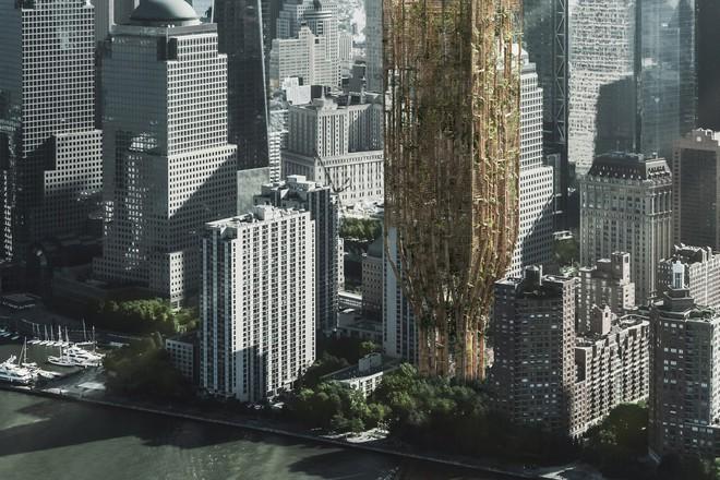 Những ý tưởng thiết kế nhà chọc trời ngông cuồng nhất trong giới kiến trúc - Ảnh 1.