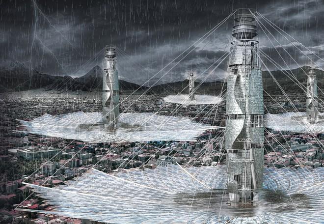 Những ý tưởng thiết kế nhà chọc trời ngông cuồng nhất trong giới kiến trúc - Ảnh 2.