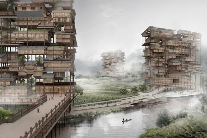 Những ý tưởng thiết kế nhà chọc trời ngông cuồng nhất trong giới kiến trúc - Ảnh 3.
