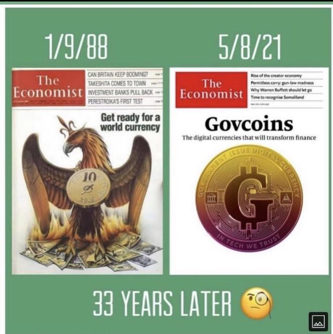 Govcoins - Cơn địa chấn tiếp theo của thế giới tài chính và cú đổi vai của các NHTW - Ảnh 3.