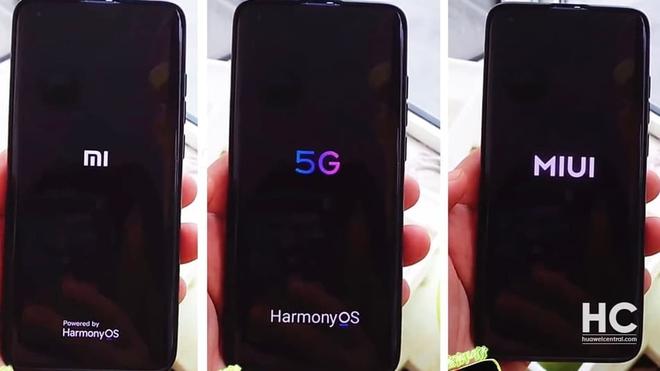 Bất ngờ xuất hiện một chiếc smartphone Xiaomi chạy hệ điều hành HarmonyOS của Huawei - Ảnh 1.