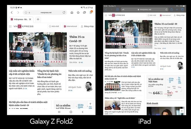 Galaxy Z Fold2 liệu có đủ sức thay thế iPad trong công việc? - Ảnh 2.