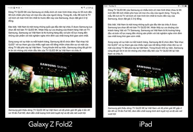 Galaxy Z Fold2 liệu có đủ sức thay thế iPad trong công việc? - Ảnh 4.