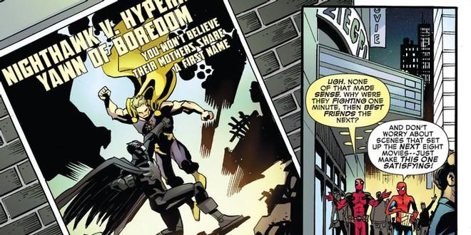 Spider-Man và Deadpool từng cà khịa Batman v Superman, chê bom tấn của DCEU quá vô lý - Ảnh 2.