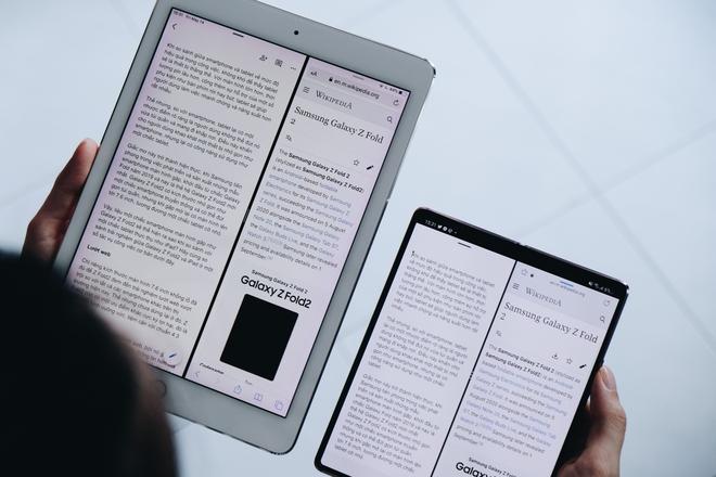 Galaxy Z Fold2 liệu có đủ sức thay thế iPad trong công việc? - Ảnh 1.