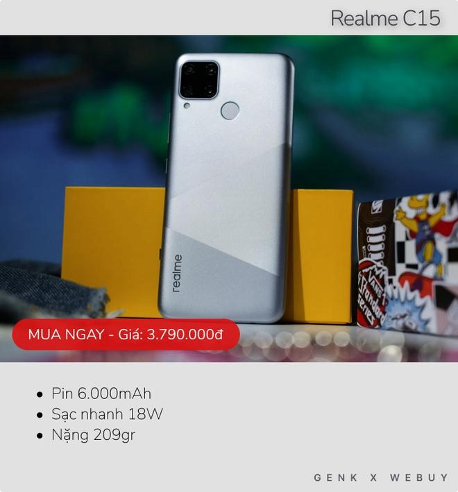 6 mẫu smartphone pin khủng từ 6000mAh, rất hợp với team shipper, xe ôm công nghệ - Ảnh 2.