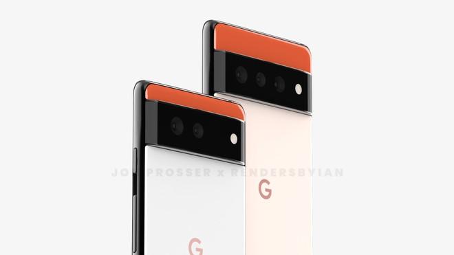 Google Pixel 6 và Pixel 6 Pro lộ diện với thiết kế hoàn toàn mới - Ảnh 1.