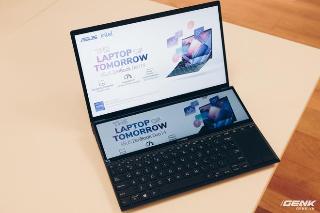 Cận cảnh Asus ZenBook Duo 14: Laptop hai màn hình mỏng nhẹ nhất thế giới, giá từ 32.9 triệu đồng - Ảnh 2.