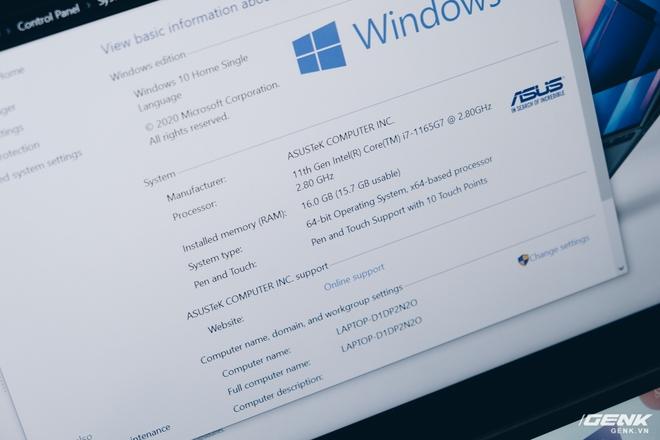 Cận cảnh Asus ZenBook Duo 14: Laptop hai màn hình mỏng nhẹ nhất thế giới, giá từ 32.9 triệu đồng - Ảnh 9.