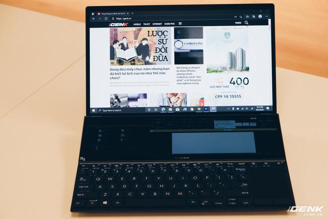 Cận cảnh Asus ZenBook Duo 14: Laptop hai màn hình mỏng nhẹ nhất thế giới, giá từ 32.9 triệu đồng - Ảnh 11.