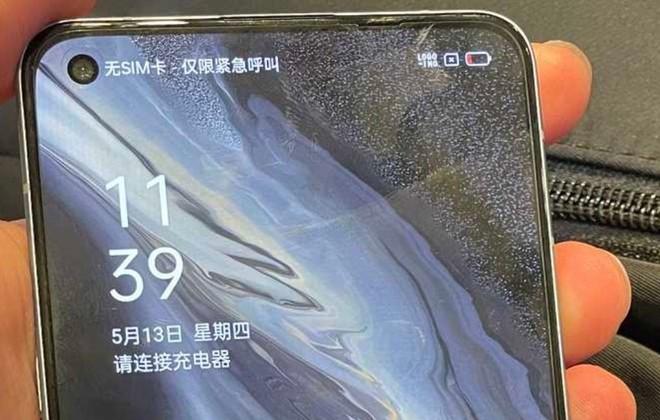 OPPO Reno6 lộ ảnh thực tế với khung viền vuông như iPhone 12 - Ảnh 3.