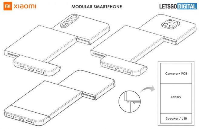 Xiaomi đăng ký bằng sáng chế smartphone có thể thay thế camera dạng module - Ảnh 2.