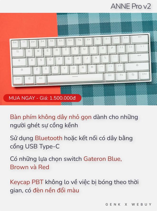 Chưa tới 2 triệu Đồng đã có 5 lựa chọn bàn phím cơ xịn hết nấc như thế này thì ai dám bảo phím cơ là đắt đỏ? - Ảnh 2.