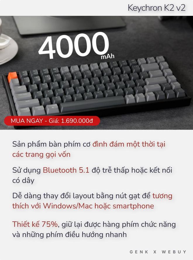 Chưa tới 2 triệu Đồng đã có 5 lựa chọn bàn phím cơ xịn hết nấc như thế này thì ai dám bảo phím cơ là đắt đỏ? - Ảnh 4.