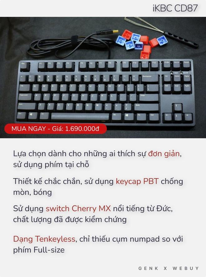 Chưa tới 2 triệu Đồng đã có 5 lựa chọn bàn phím cơ xịn hết nấc như thế này thì ai dám bảo phím cơ là đắt đỏ? - Ảnh 3.