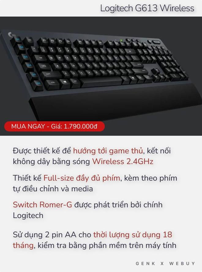 Chưa tới 2 triệu Đồng đã có 5 lựa chọn bàn phím cơ xịn hết nấc như thế này thì ai dám bảo phím cơ là đắt đỏ? - Ảnh 5.