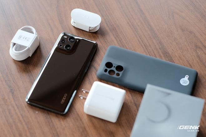 Khui hộp OPPO Find X3 Pro chính hãng: Smartphone có camera kính hiển vi đầu tiên trên thế giới, giá 27 triệu tặng kèm quà 6 triệu - Ảnh 2.