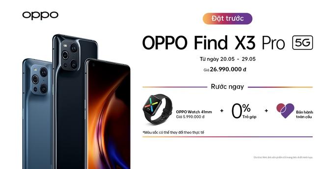 OPPO Find X3 Pro chính thức ra mắt tại Việt Nam: Giá 26.9 triệu, tặng kèm OPPO Watch - Ảnh 9.