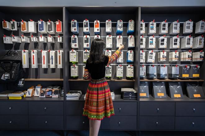 """Chuỗi cửa hàng Apple mang phong cách thổ cẩm đầu tiên tại Việt Nam: """"Đừng sao chép Apple, hãy sáng tạo"""" - Ảnh 5."""
