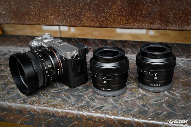 Trải nghiệm nhanh bộ 3 ống kính Sony FE G series vừa ra mắt: Gọn, nhẹ, lấy nét cực êm, đồng giá 14,99 triệu đồng - Ảnh 3.