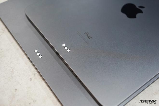 Mở hộp iPad Pro 2021: Ngoại hình không đổi, chip M1 mạnh mẽ, màn hình Mini LED trên bản 12,9 inch rất đẹp - Ảnh 6.