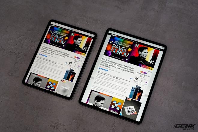 Mở hộp iPad Pro 2021: Ngoại hình không đổi, chip M1 mạnh mẽ, màn hình Mini LED trên bản 12,9 inch rất đẹp - Ảnh 9.