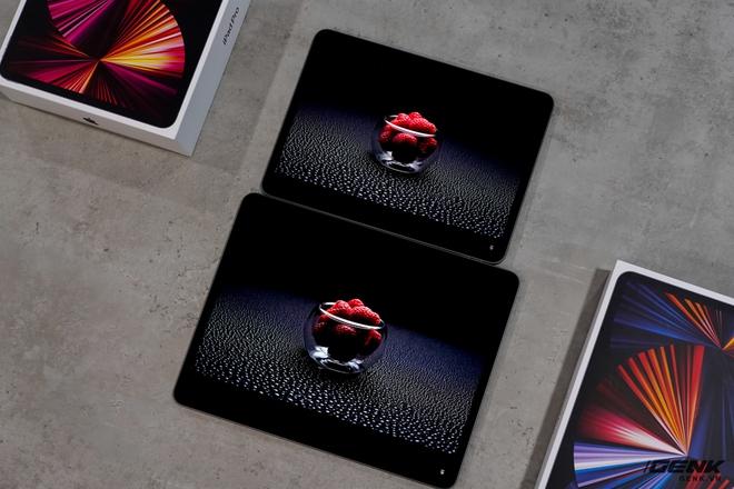 Mở hộp iPad Pro 2021: Ngoại hình không đổi, chip M1 mạnh mẽ, màn hình Mini LED trên bản 12,9 inch rất đẹp - Ảnh 10.