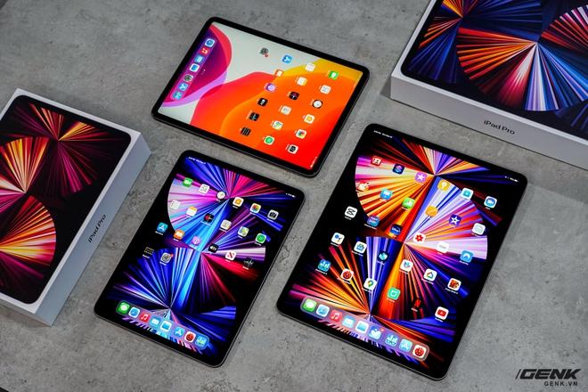 Mở hộp iPad Pro 2021: Ngoại hình không đổi, chip M1 mạnh mẽ, màn hình Mini LED trên bản 12,9 inch rất đẹp - Ảnh 13.