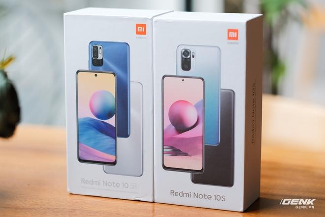 Trên tay Redmi Note 10 5G và Redmi Note 10S: Giá chưa tới 5 triệu đồng, bộ đôi smartphone tầm trung mới của Xiaomi có gì hấp dẫn? - Ảnh 1.
