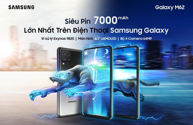 Samsung ra mắt smartphone có pin khủng 7000mAh tại VN, giá 9.99 triệu - Ảnh 1.