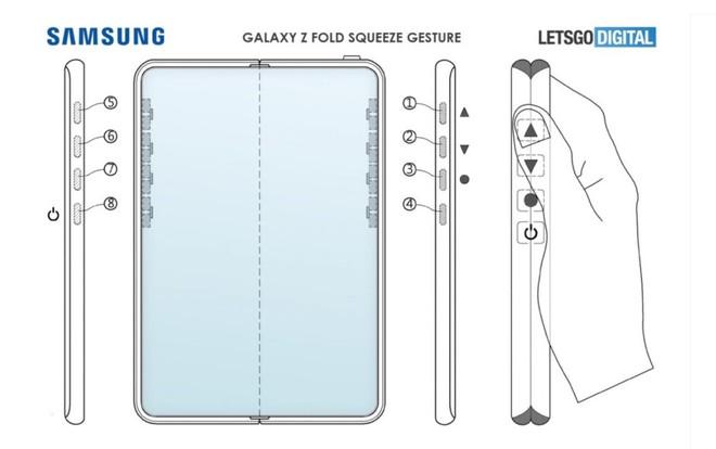 Samsung đăng ký bằng sáng chế giúp loại bỏ hoàn toàn nút bấm trên Galaxy Z Fold 3 - Ảnh 1.