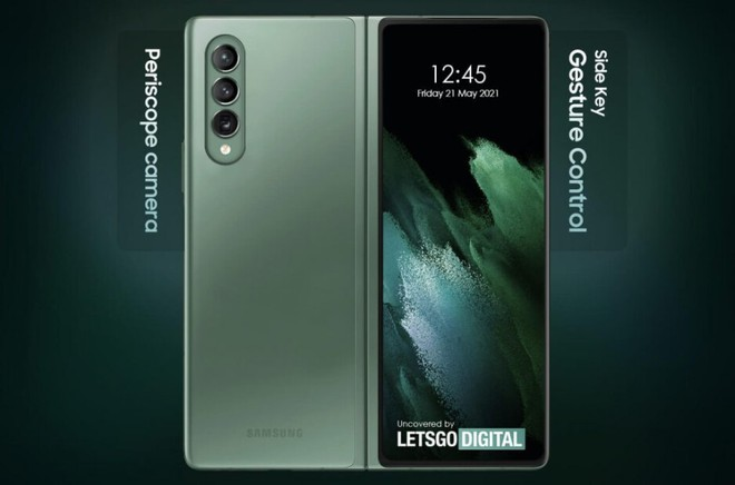 Samsung đăng ký bằng sáng chế giúp loại bỏ hoàn toàn nút bấm trên Galaxy Z Fold 3 - Ảnh 3.