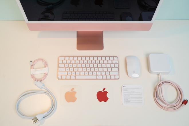 Cận cảnh iMac 24 M1 sắp bán tại Việt Nam, giá từ 34 triệu đồng - Ảnh 3.