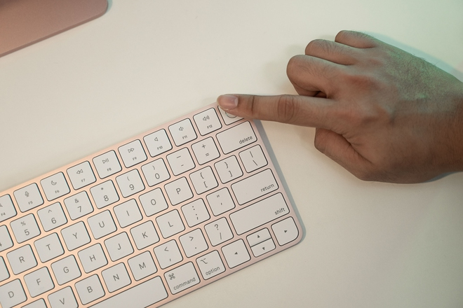 Cận cảnh iMac 24 M1 sắp bán tại Việt Nam, giá từ 34 triệu đồng - Ảnh 4.