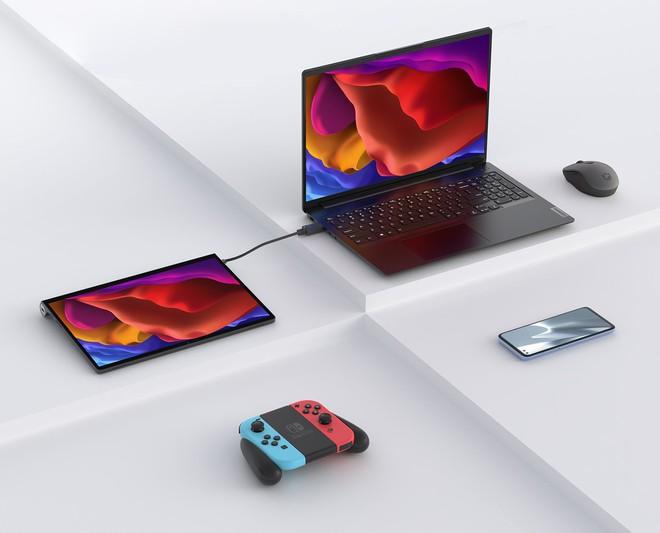 Lenovo ra mắt máy tính bảng kiêm màn hình rời: Snapdragon 870, có cổng micro-HDMI, pin 12 giờ, giá 11.9 triệu đồng - Ảnh 4.