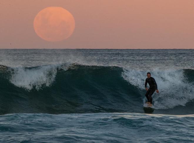 Những bức ảnh ngoạn mục nhất về sự kiện siêu trăng máu vừa diễn ra - Ảnh 16.