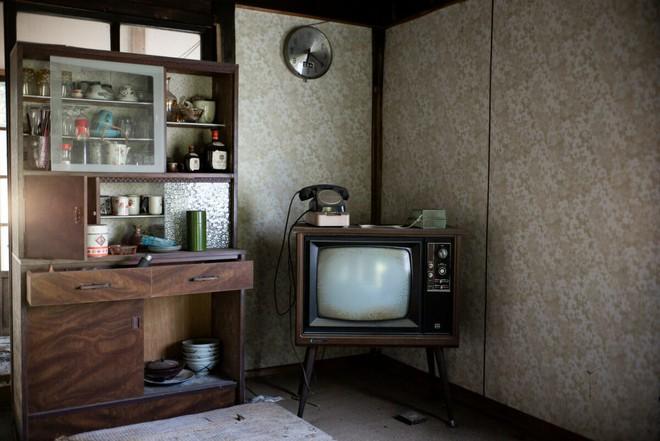 Bộ ảnh đẹp tới nao lòng về những chiếc TV cũ bị bỏ hoang ở Nhật Bản - Ảnh 4.