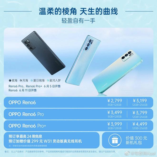 OPPO Reno6 ra mắt: Viền vuông như iPhone 12, giá từ 10 triệu đồng - Ảnh 9.
