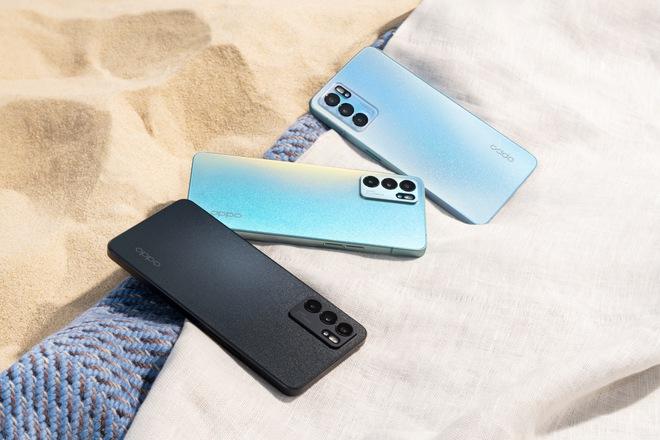 OPPO Reno6 ra mắt: Viền vuông như iPhone 12, giá từ 10 triệu đồng - Ảnh 1.