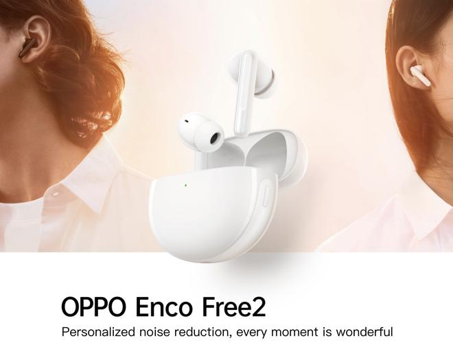 OPPO Enco Free2 ra mắt: Thiết kế in-ear, có chống ồn chủ động ANC, pin 30 giờ, giá 2.1 triệu đồng - Ảnh 1.