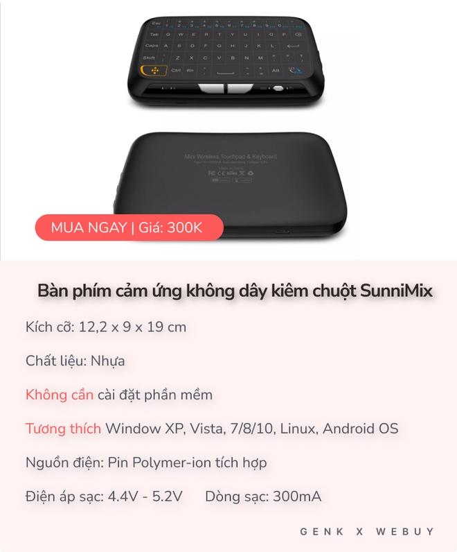 Điểm danh 2 mẫu bàn phím cảm ứng xịn xò, ở Việt Nam mua được 1 loại mà giá chỉ từ 259K - Ảnh 6.