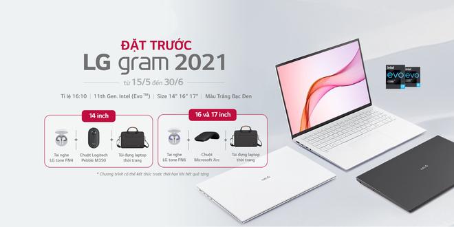 Laptop siêu nhẹ LG Gram 2021 ra mắt tại Việt Nam, giá từ 34.9 triệu đồng - Ảnh 3.