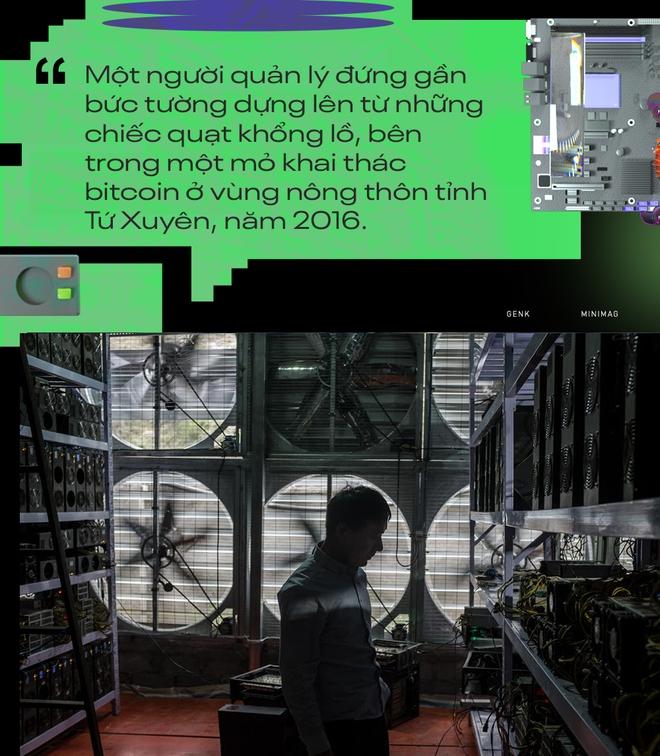 Sức ép năng lượng xanh đè nặng lên vai thợ đào bitcoin Trung Quốc: Không có lựa chọn nào khác ngoài việc tìm địa điểm mới - Ảnh 4.