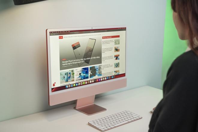 Cận cảnh iMac 24 M1 sắp bán tại Việt Nam, giá từ 34 triệu đồng - Ảnh 11.