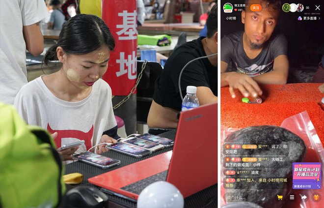 Đổ thạch online: Khi những con bạc Trung Quốc lao vào cuộc chơi cược đá trên livestream - Ảnh 4.