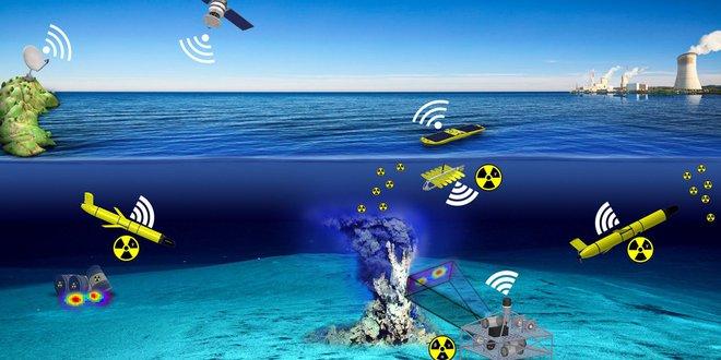 Các nhà khoa học đang chế tạo một tàu ngầm tự hành đánh hơi được bức xạ dưới đáy biển, nhằm phát hiện sớm động đất và sóng thần - Ảnh 1.