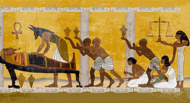 Nghệ thuật thất truyền: Người Ai Cập ướp xác người đã khuất như thế nào - Ảnh 1.