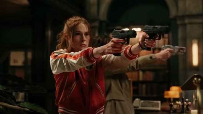 """Sao Marvel và """"ác hậu"""" của Game of Thrones rủ nhau vào vai """"John Wick phiên bản nữ"""", quậy tưng bừng trong trailer bom tấn Gunpowder Milkshake - Ảnh 2."""