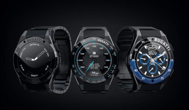 Bugatti bất ngờ ra mắt bộ ba smartwatch sang trọng, hầm hố không kém những chiếc siêu xe - Ảnh 2.